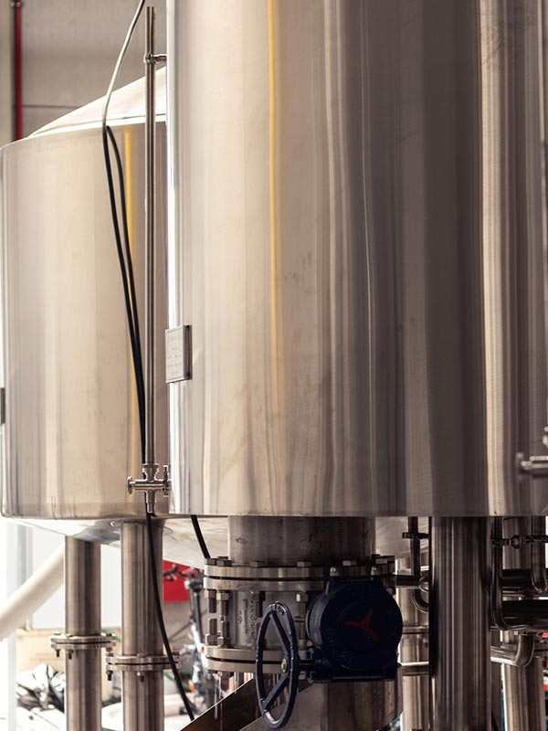 In de zuiveringstank wordt je eigen bier gebrouwen